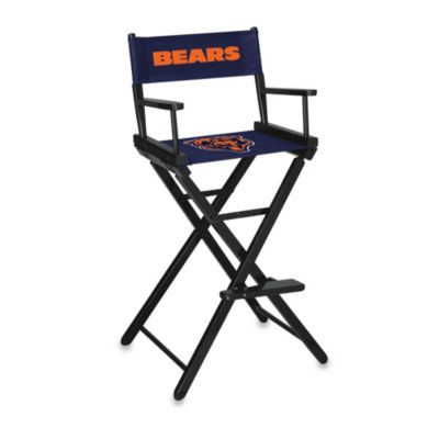 NFL Chicago Bears Bar Height Directors Chair