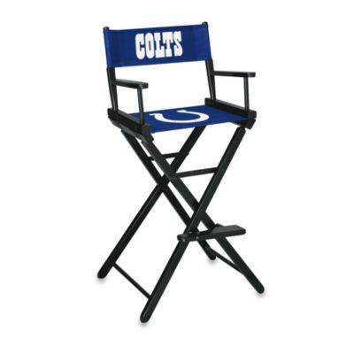 NFL Indianapolis Colts Bar Height Directors Chair