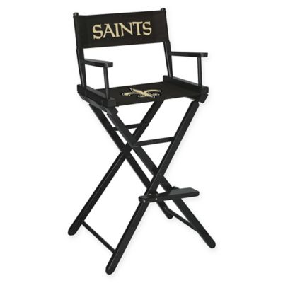 NFL New Orleans Saints Bar Height Directors Chair