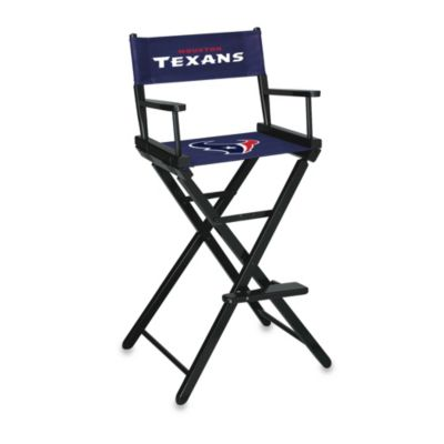 NFL Houston Texans Bar Height Directors Chair