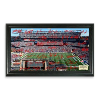 New England Patriots Signature Gridiron Collection Photo Frame