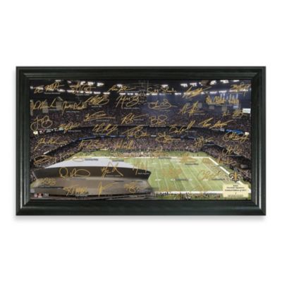 New Orleans Saints Signature Gridiron Collection Photo Frame