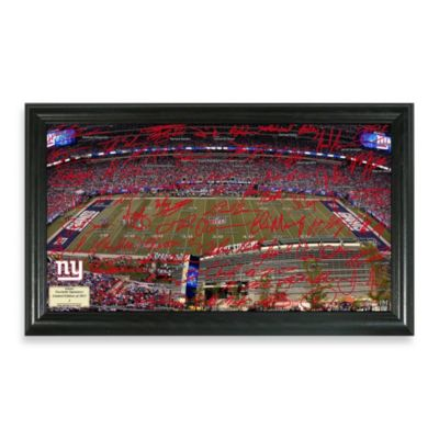 New York Giants Signature Gridiron Collection Photo Frame