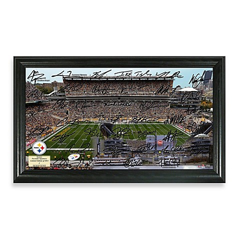 Pittsburgh Steelers Signature Gridiron Collection Photo Frame