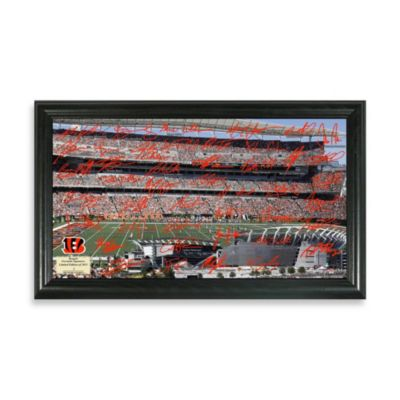 Cincinnati Bengals Signature Gridiron Collection Photo Frame