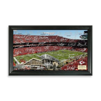 Kansas City Chiefs Signature Gridiron Collection Photo Frame