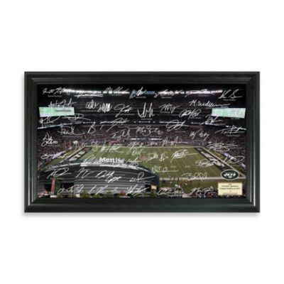 New York Jets Signature Gridiron Collection Photo Frame