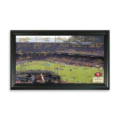 San Francisco 49ers Signature Gridiron Collection Photo Frame