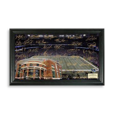 St. Louis Rams Signature Gridiron Collection Photo Frame