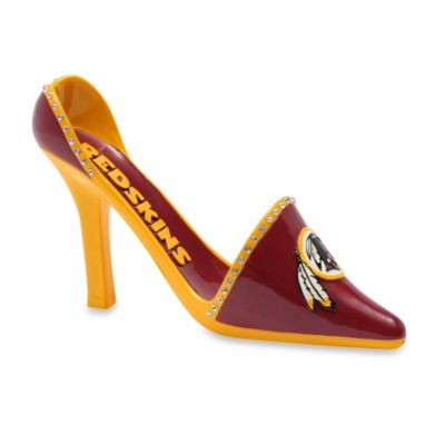 Washington Redskins Decorative Team Shoe Wine Bottle Holder