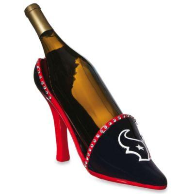 NFL Houston Texans Team Shoe Wine Bottle Holder