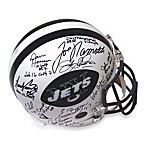 Steiner Sports 1969 New York Jets Team Signed Authentic Helmet with 25 Signatures
