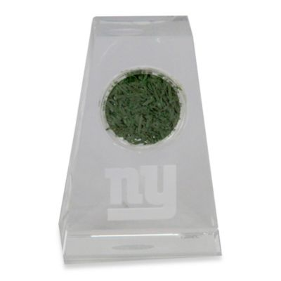 Steiner Sports New York Giants Tapered Crystal with Giants Logo