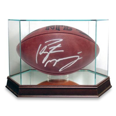 Steiner Sports Glass Football Display Case (Football not Included)