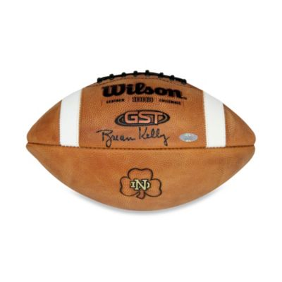 Steiner Sports Brian Kelly Signed University of Notre Dame Football