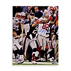 Mario Manningham Signed Super Bowl XLVI Catch 8-Inch x 10-Inch Photo