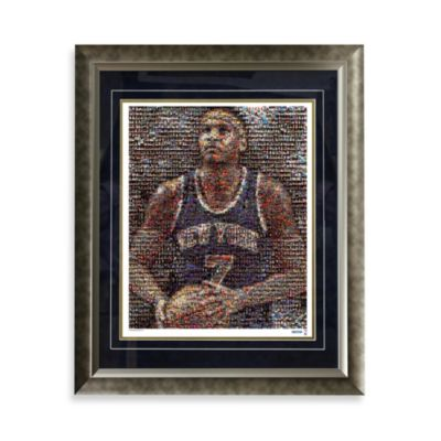 Carmelo Anthony Limited Edition Framed 16-Inch x 20-Inch Mosaic Collage Photo