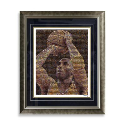 Kobe Bryant Framed Limited Edition 16-Inch x 20-Inch Mosaic Collage Photo