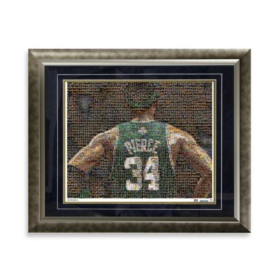 Paul Pierce Framed Limited Edition 16-Inch x 20-Inch Mosaic Collage Photo