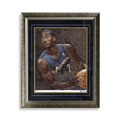 John Wall Framed Limited Edition 16-Inch x 20-Inch Mosaic Collage Photo (Limited Edition)