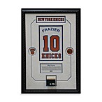 Walt Frazier Retired Number New York Knicks Championship 14-Inch x 18-Inch Framed Collage