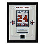 Bill Bradley Retired Number New York Knicks Championship Court Piece 14-Inch x 18-Inch Collage