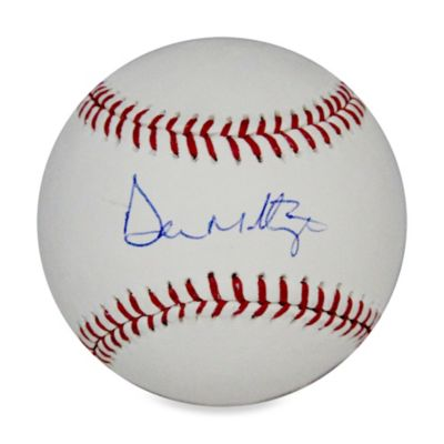 Don Mattingly MLB Signed Baseball