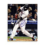 David Ortiz 2004 ALDS Walk Off Home Run Signed Photograph