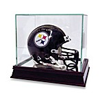 Glass Mini-Helmet Display Case (Mini-Helmet not Included)