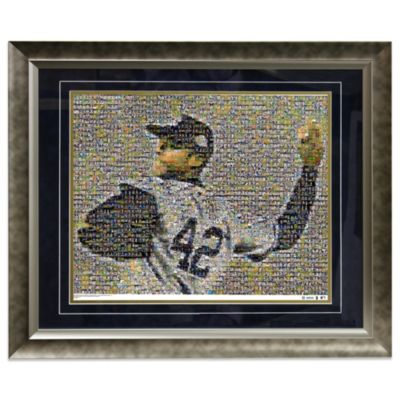 Mariano Rivera New York Yankees Limited Edition Framed 16-Inch x 20-Inch Photo Collage