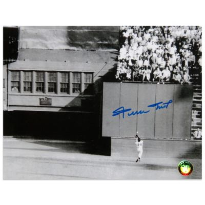 "Willie Mays New York Giants Autographed '""The Catch"" (Say Hey! Hologram) 16-Inch x 20-Inch Photo"