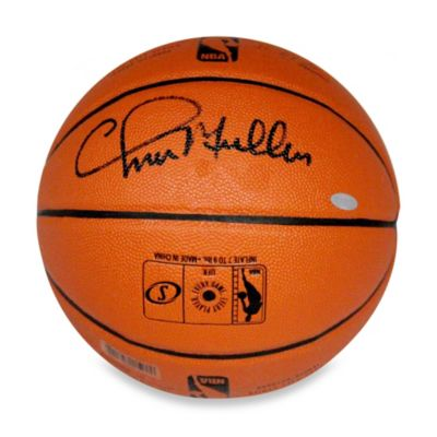 Chris Mullin Signed Indoor/Outdoor Basketball