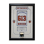 Red Holzman Retired Number with Championship Court Framed 14