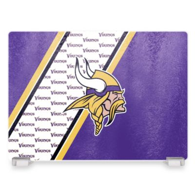 NFL Minnesota Vikings Tempered Glass Cutting Board