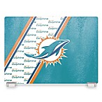 Miami Dolphins Tempered Glass Cutting Board