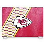 Kansas City Chiefs Tempered Glass Cutting Board
