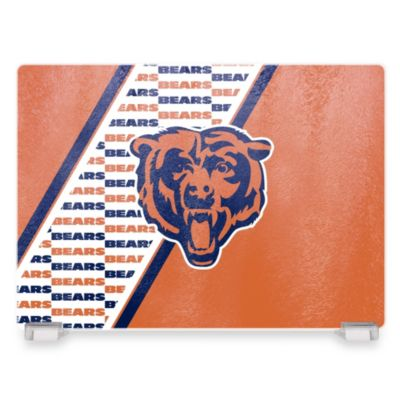 NFL Chicago Bears Tempered Glass Cutting Board