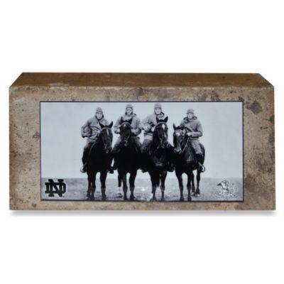 Steiner Sports 4 Horseman Brick with Nameplate