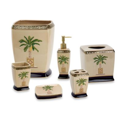 Avanti Banana Palm Tissue Box Cover