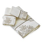 Laura Ashley Eleanora Gold/Cream Fingertip Towel