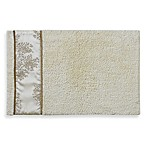 Laura Ashley Eleanora Bath Rug in Gold/Cream