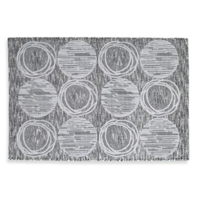 Metallic Cotton Bath Rugs