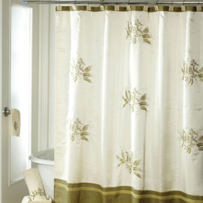Avanti Greenwood 72-Inch x 72-Inch Shower Curtain