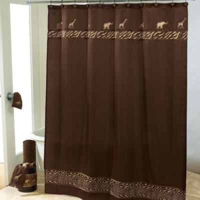 Avanti Animal Parade 72-Inch x 72-Inch Shower Curtain