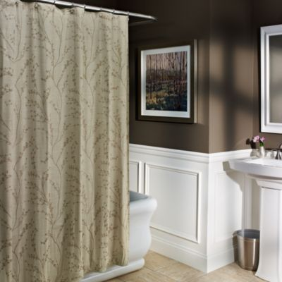 Blossom 72-Inch x 72-Inch Shower Curtain