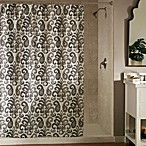 Ikat Plume 70-Inch x 72-Inch Shower Curtain <BR>