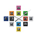 Present Time Karlsson DIY Photo Frame Wall Clock