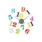 Present Time Karlsson 32-Inch DIY Grand Numbers Wall Clock