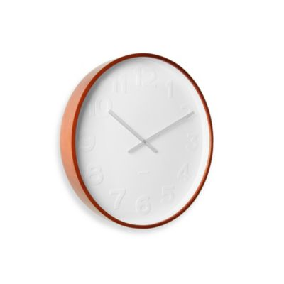 Present Time Mr. White Wall Clock