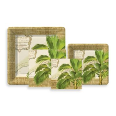 Design Design Palm Trees Cocktail Party Kit